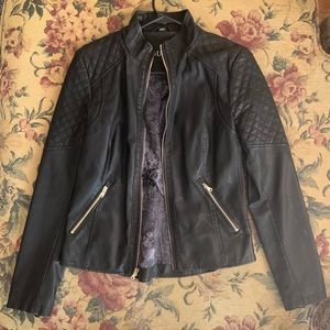 NWOT Guess Faux Leather Jacket